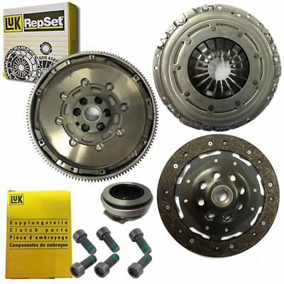 Clutch Kit And Luk Dual Mass Flywheel With Luk Bolts For Vw Caddy Box 1.9 Tdi • 256.49£