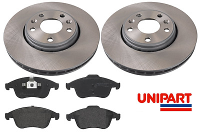 For Renault - Laguna MK3 2.0 2007-2012 Front 296mm Brake Discs And Pads Unipart • 69.95£