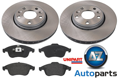 For Renault - Scenic MK3 2013-17 1.2 1.6 DCi Front 296mm Brake Discs & Pads  • 75.61£