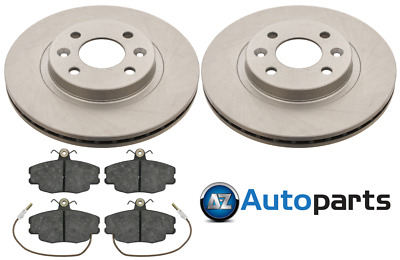 For Renault - Clio / Twingo MK2 Front 258mm Brake Discs And Pads Set Unipart • 38.50£
