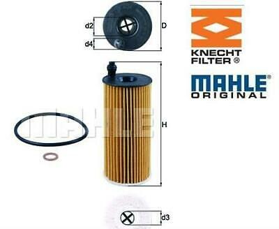 OX 404D -MAHLE/KNECHT  Oil Filter • 11.89£