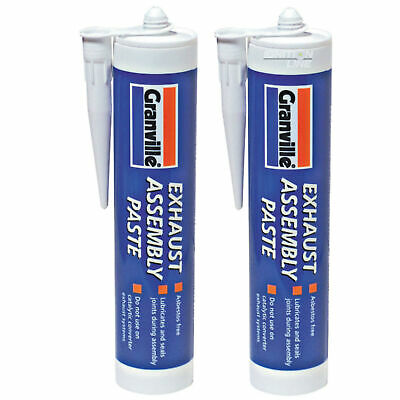 2 X Exhaust Assembly Paste Repair Putty Sealant Jointing Gun Cartridge Tube 500g • 9.49£
