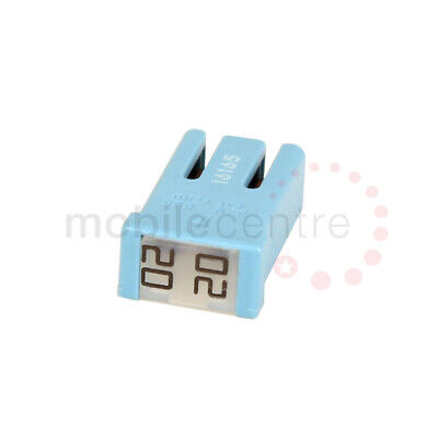 20 Amp Blue MCASE+ Slotted Plug In 20A Cartridge Fuse Ford 5559031 • 6.96£