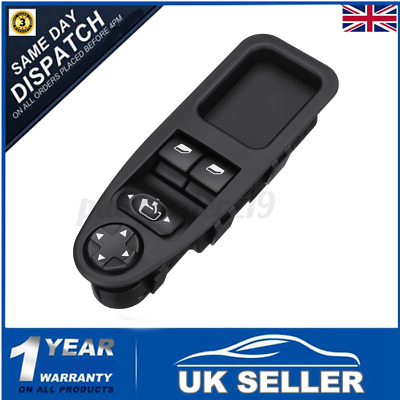 Front Driver Side Window Switch For Peugeot Expert For Fiat Scudo 6554.ZJ UK  • 15.58£