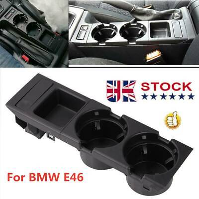 For BMW E46 325 328 330 1999-06 UK Center Console Drink Cup Holder Coin Storage • 13.99£