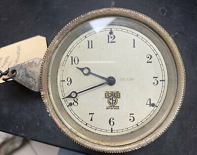 Vintage 1930's Smiths Mechanical Car Dashboard Clock • 70£