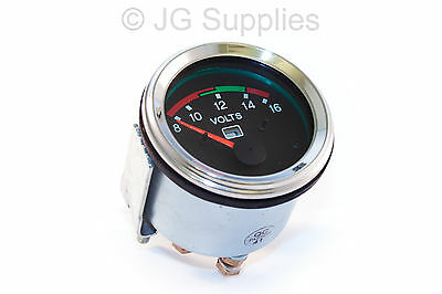 Voltmeter 8 -16  Chrome Bezel Gauge 52mm Smart  • 15.98£