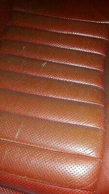 Jaguar XJS Pre HE 1977 Front Seats - Early Bright Red • 100£