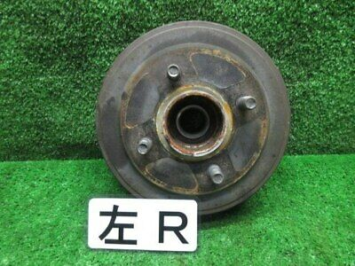 NISSAN March 2007 Rear Left Hub Drum Assembly 43206AX000 [Used] [PA45872591] • 281£