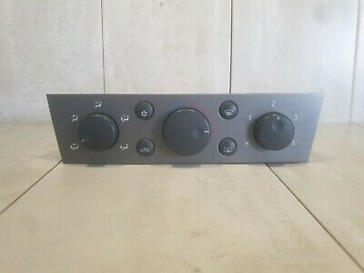 Opel Vauxhall Vectra C Signum  Climate Heater Control Panel 13138190 • 40£