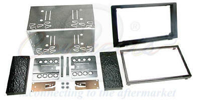 Connects2 Saab 93 9-3 06+ Double Din Car Stereo Facia Fitting Kit Bezel Cage • 29.95£