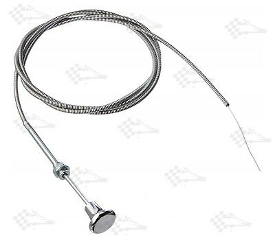 Universal Choke Cable 72  / 6' / 6 Ft Long - Installs In 3/8  Dia Mounting Hole • 19.94£