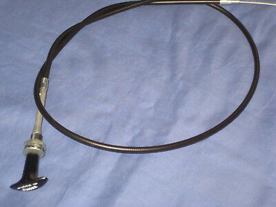 Bhh2064  MGB ROADSTER  OR  GT T  PULL  CHOKE CABLE 1976 ON   Rubber Bumper F3 • 16.95£