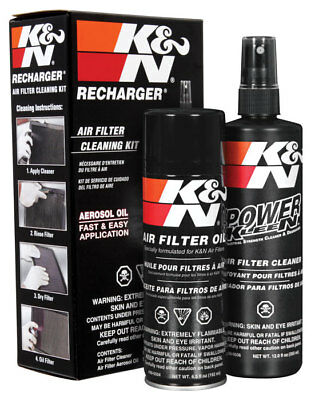 99-5000 K&N KN RECHARGER AIR FILTER CLEANING SERVICE KIT 204ml AEROSOL OIL • 16.99£