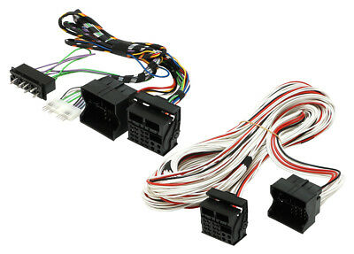 Bmw X5 E53 2000 - 2006 Radio Fitting And Amplifier Bypass Cable For Cars 20-316 • 111.99£