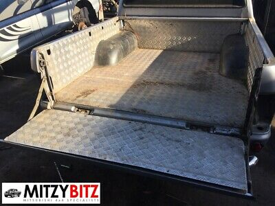 GENUINE REAR TUB CHEQUER PLATE LOAD LINER For MITSUBISHI L200 K74 2.5TD 1996-07 • 240£