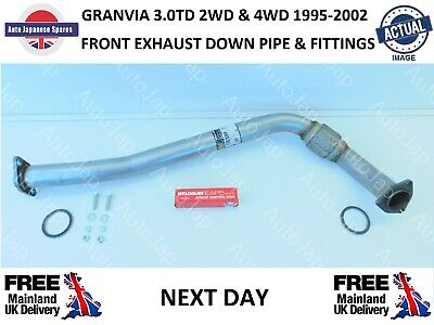 Toyota Granvia 1995 - 2002 3.0dt  2wd & 4wd Front Exhaust Down  Pipe Next Day  • 76.95£