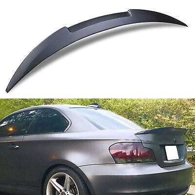 Abs M4 Look Style Rear Boot Lip Wing Spoiler For Bmw 1 Series E82 Coupe 07-13 • 99.99£