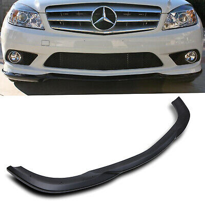 Front Bumper Lower Lip Spoiler Splitter For Mercedes Benz C Class W204 08-11 • 149.99£