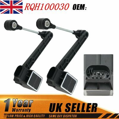 2x Air Suspension Ride Height Sensor For Land Rover Discovery 2 Td5 V8 Rqh100030 • 33.58£
