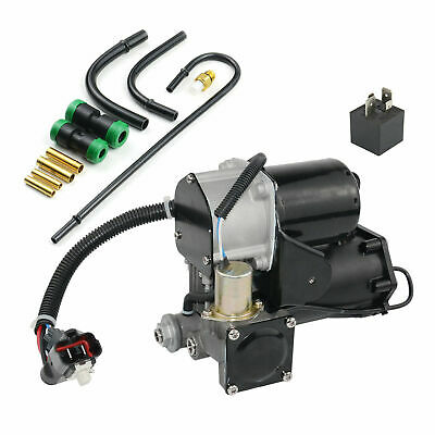 Air Suspension Pump With Compressor Pipe Kit & Relay For Range Rover Sport • 166£