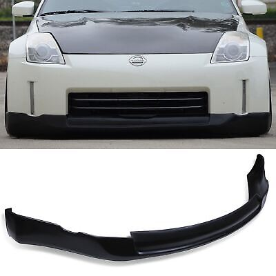 Front Bumper Splitter Spoiler Valance Chin Extension Lip For Nissan 350z 03-05 • 99.99£