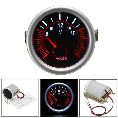 2'' 52mm Car Boat Auto LED Digital Display Voltmeter Volt Voltage Gauge   • 13.91£