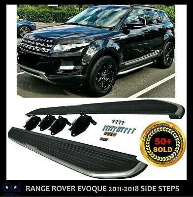 Side Step Running Boards For Range Rover Evoque Pure Tech Prestige Oem Style • 119.99£