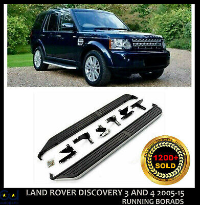 Side Steps Running Boards For Land Rover Discovery 3 And 4 2005-15 Oe Style New • 129.99£
