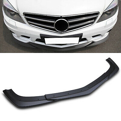 Front Bumper Chin Lip Splitter For Mercedes Benz C Class W204 S204 C63 Amg 12-14 • 119.99£