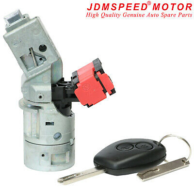 For Renault Clio Modus Master Trafic Ignition Switch Lock Barrel Cylinder • 19.99£