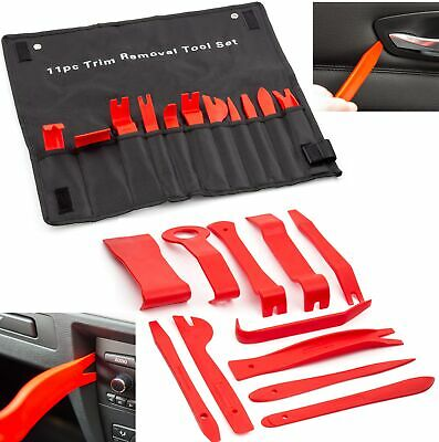 11Pc Car Trim Door Panel Removal Tool Molding Set Kit Pouch Pry Interior Van DIY • 7.49£