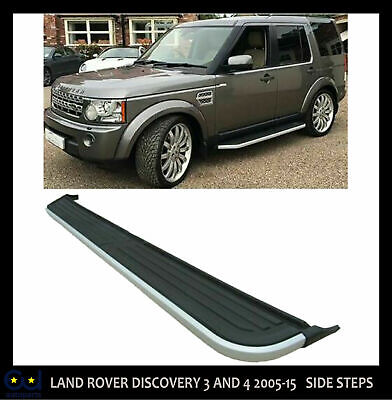 Side Steps Running Boards For Land Rover Discovery 3 And 4 2005-15 Right Side • 74.99£