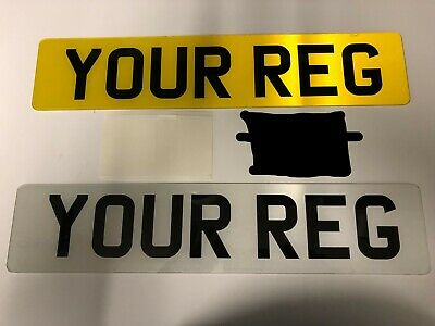 Pair Of Road Legal 2D Number Plates Printed Top Quality Free Post • 10.99£