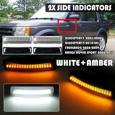 Dual Color LED Side Repeater Indicator Light For Land Rover Discovery  • 30.97£