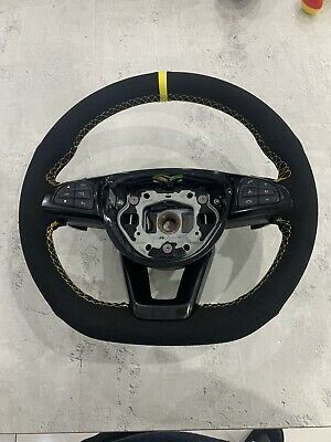 Mercedes A C Class Gla Steering C63s Paddleshift W176 W205 Amg Suede Yellow • 295£