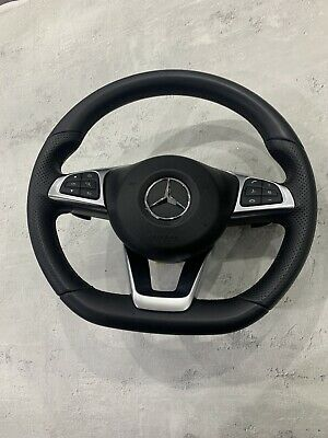Mercedes W205 W253 Glc Amg Paddle Shift Steering Wheel Complete A C Cla Class • 295£