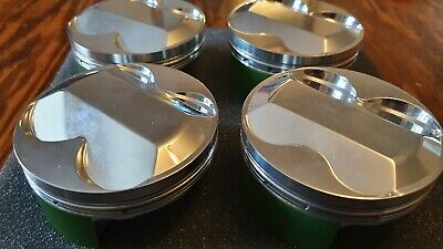 Engine Set Of 4 Cosworth Forged Pistons • 500£