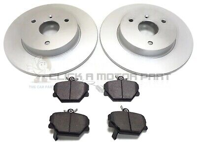 Smart Car Fortwo City Coupe Passion Pure Pulse Front 2 Brake Discs And Pads Set • 40£