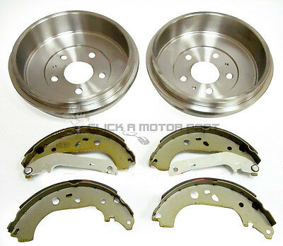 Ford Focus Mk2 1.6 Zetec 2005-2010 Rear Brake Drums And Rear Shoes Set New • 70£