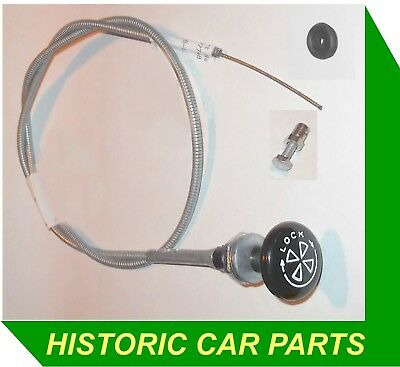 MG MIDGET Mk3 1275cc 1966-71 - CHOKE CABLE, FIXING & GROMMET • 29.99£