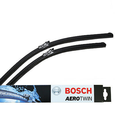 FOR AUDI A4 A5 A7 Q3 Q5 NEW Genuine BOSCH A298S Aerotwin Front Wiper Blades Set • 19.74£