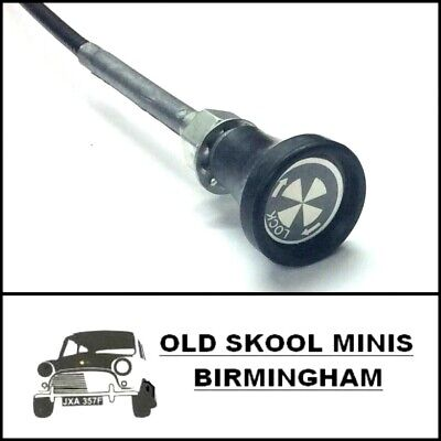 Classic Mini Choke Cable Pull Twist & Lock Type 21a2329 Austin Made In Uk! 4b3 • 12.50£