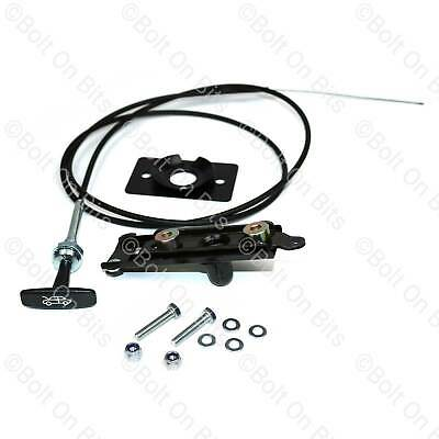 Bonnet Catch Safety Pull Release Cable Striker Plate 90/110 Defender 1987-1998 • 26.99£