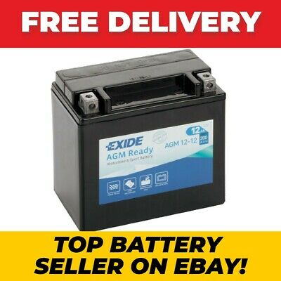EK131 Replacement 4 Yr Wty Exide Stop Start Auxiliary Battery 12AH 200CCA  • 38.99£