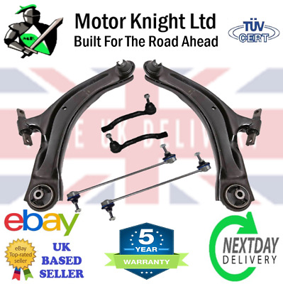 Fits Nissan Qashqai 07-15 Front Suspension Control Arms Wishbones L&r Links Rods • 64.84£