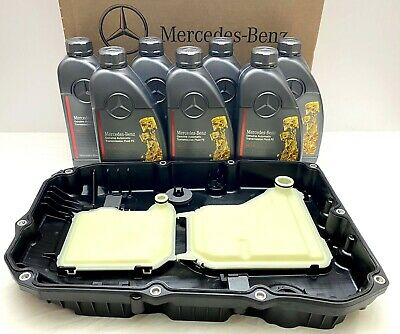 Genuine Mercedes Benz 9G Tronic 9 Speed Automatic Gearbox Sump Pan Oil Kit OEM • 215£