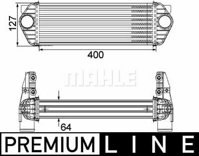 Mahle Ci 168 000p Intercooler Charger • 109.62£