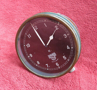 Smiths Chronometric Motorcycle Or Car Clock *** Vintage *** • 125£