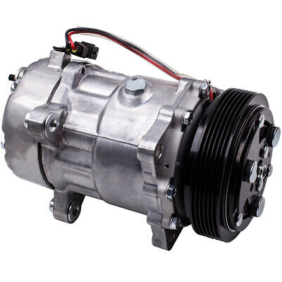 Air Conditioning Compressor For VW Transporter Caravelle T4 7D0820805K CRC • 140.82£